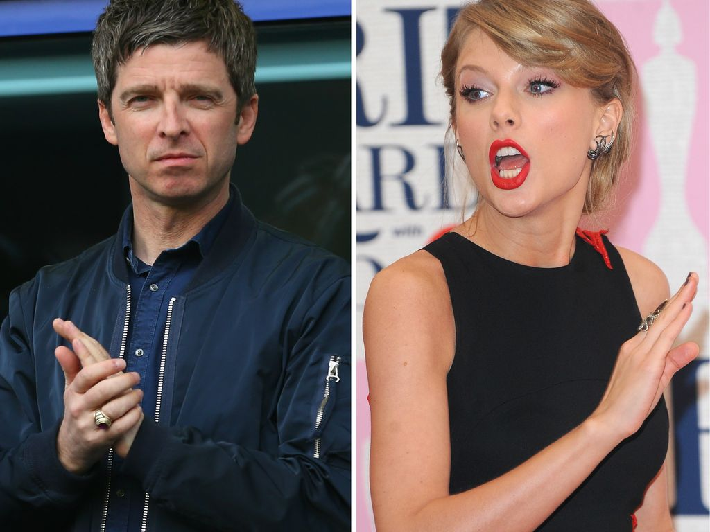 Taylor Swift und Noel Gallagher