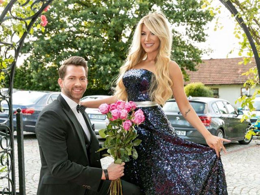 Oliver Sanne und Vivien Konca beim Patricia-Travel-Jubiläum