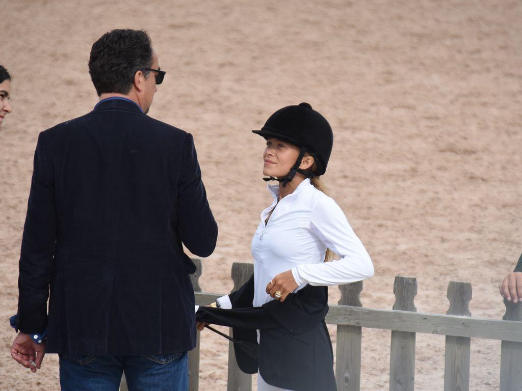 Olivier Sarkozy und Mary-Kate Olsen bei einem Reitturnier in den Hamptons