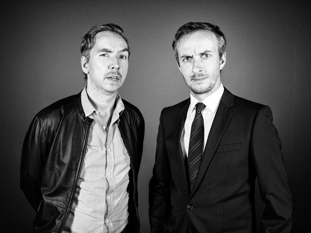 Jan Böhmermann und Oliver Schulz