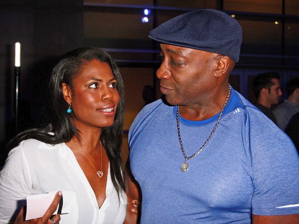 Omarosa Manigault und Michael Clarke Duncan
