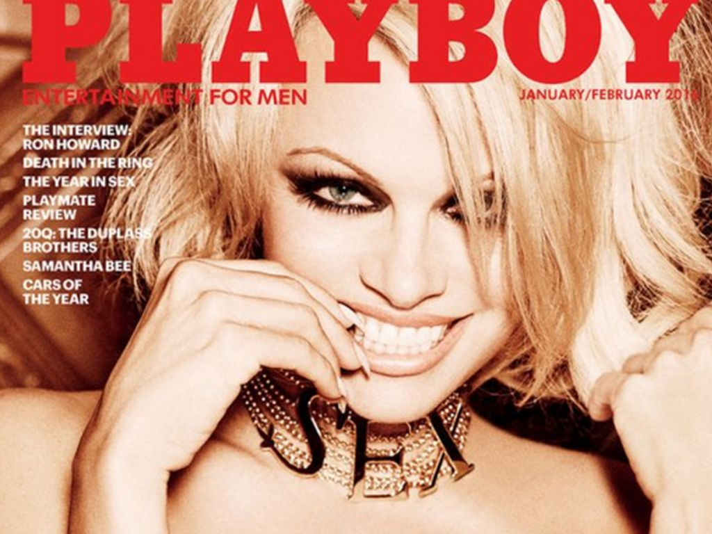 Pamela Anderson auf dem Playboy-Cover