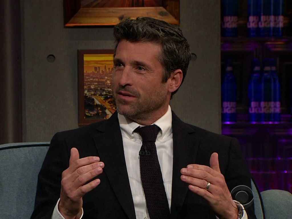 "Patrick Dempsey bei ""The Late Late Show with James Corden"""