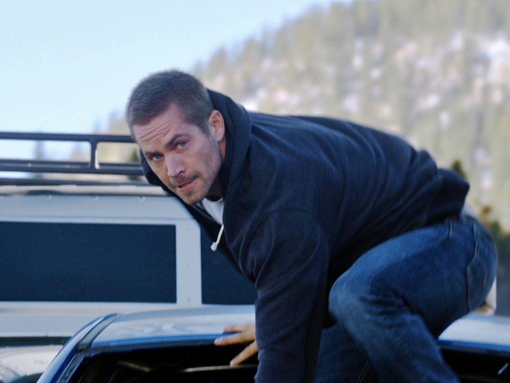 "Paul Walker in ""Furious 7"""