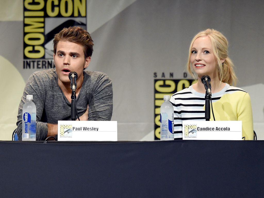 Paul Wesley und Candice Accola auf der Comic-Con International 2015