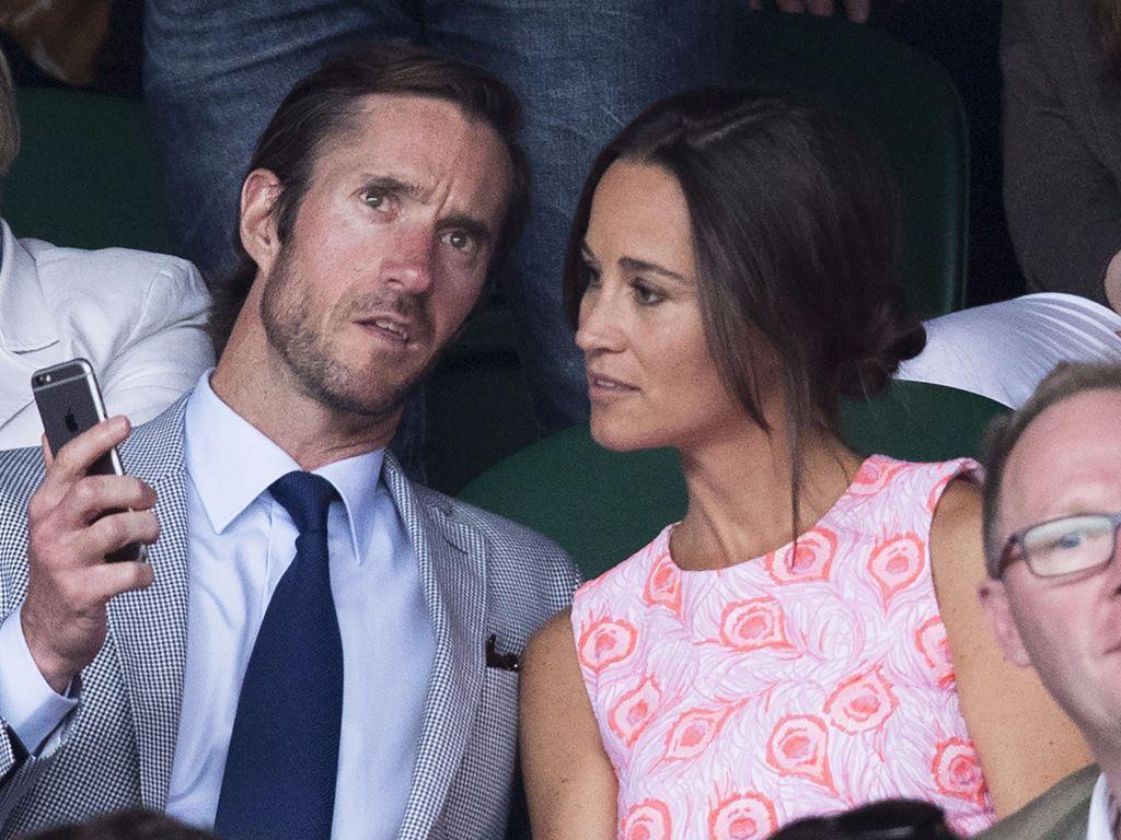 Pippa Middleton und James Matthews beim Wimbledon-Spiel