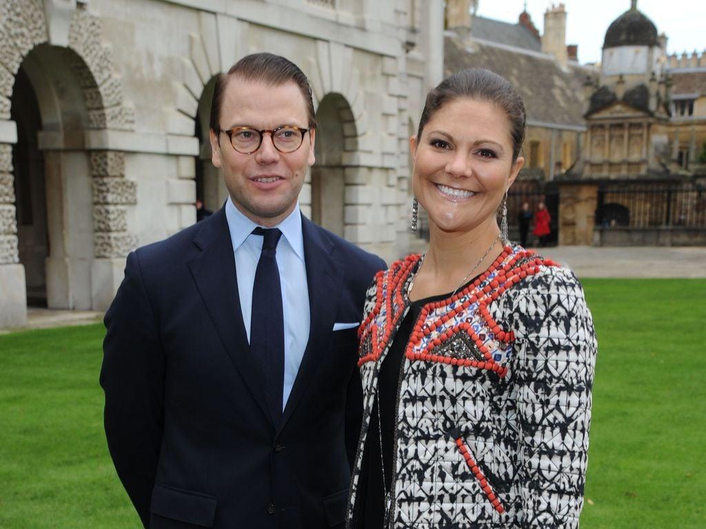 Prinz Daniel und Prinzessin Victoria von Schweden