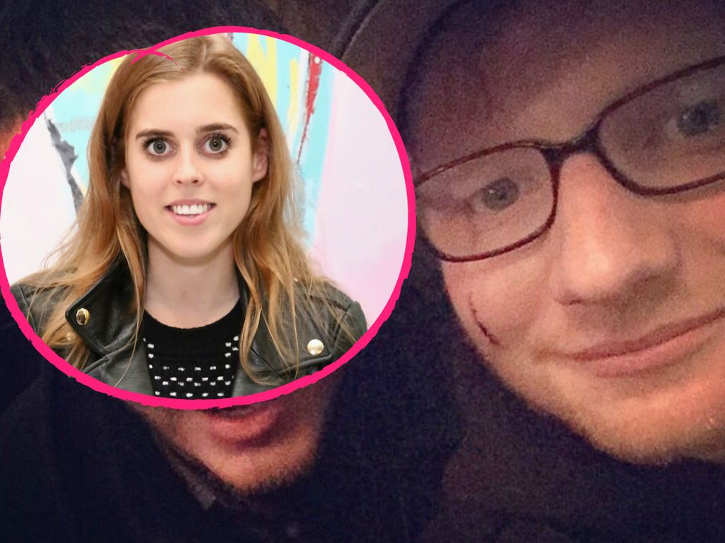 Prinzessin Beatrice und Ed Sheeran