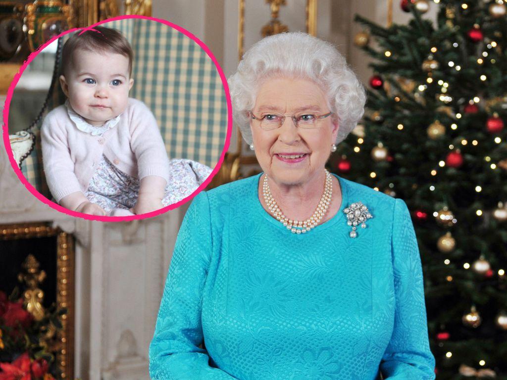 Queen Elizabeth II. und Prinzessin Charlotte