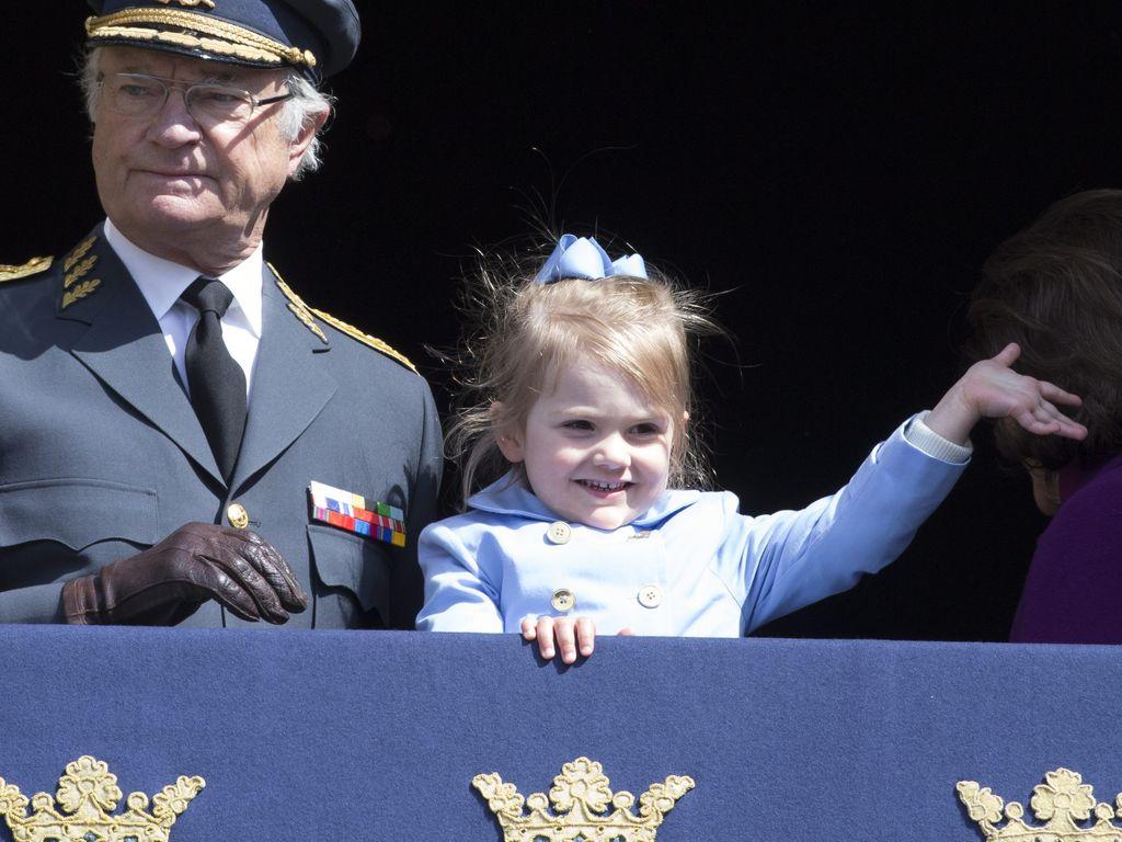 Prinzessin Estelle von Schweden und Carl Gustaf