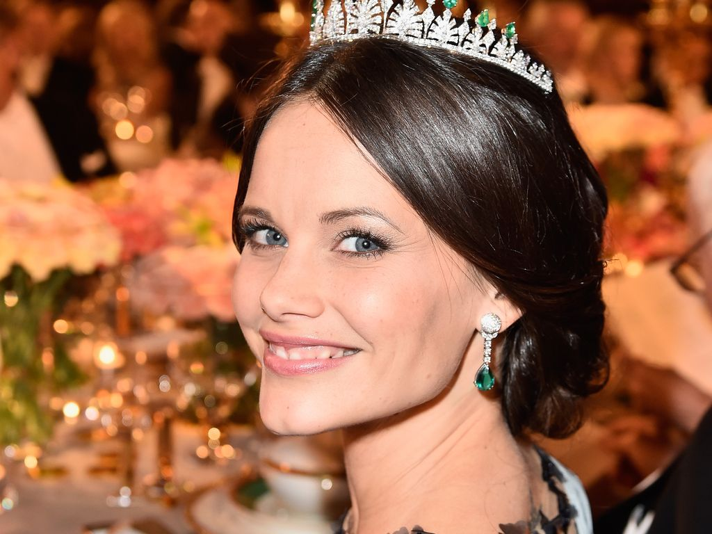 Prinzessin Sofia von Schweden bei einem Bankett in Stockholm