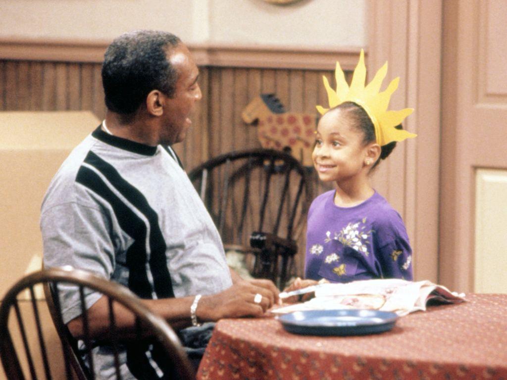 """Bill Cosby und Raven Symone in der """"Bill Cosby Show"""""""