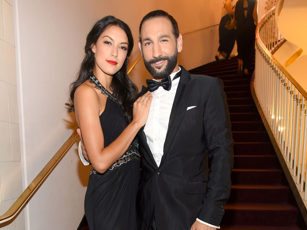 Rebecca Mir und Massimo Sinató beim Leipziger Opernball