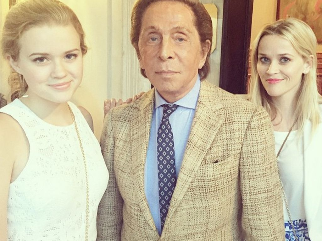 Reese Witherspoon, Ava Phillippe und Valentino