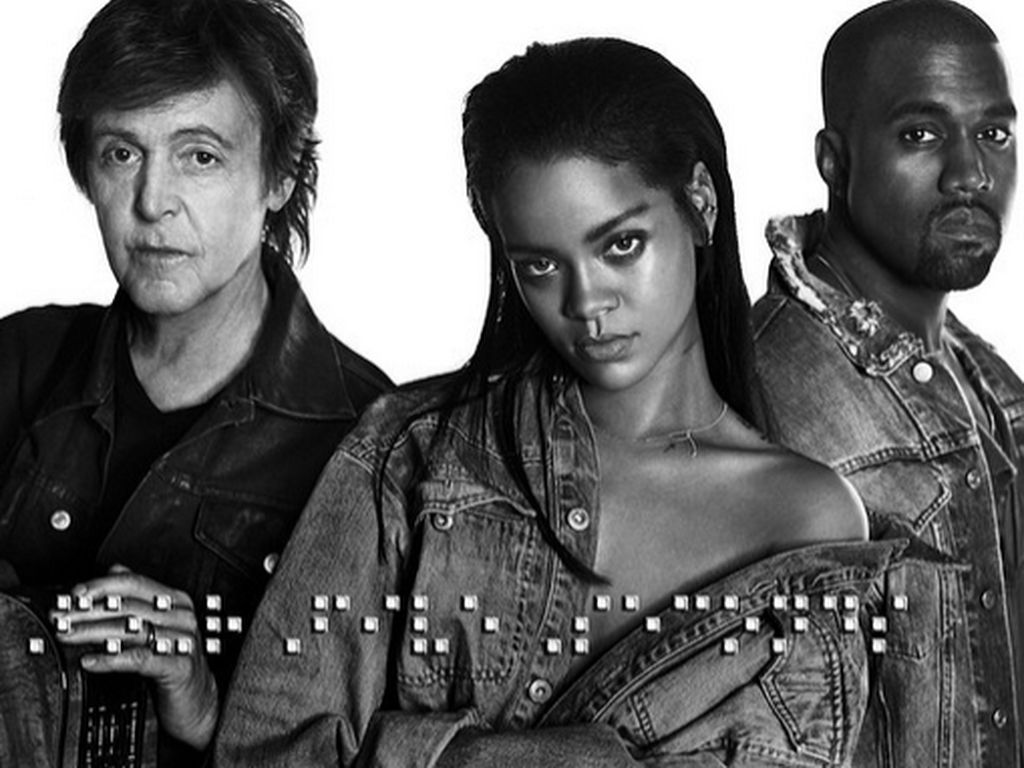 Kanye West, Rihanna und Paul McCartney