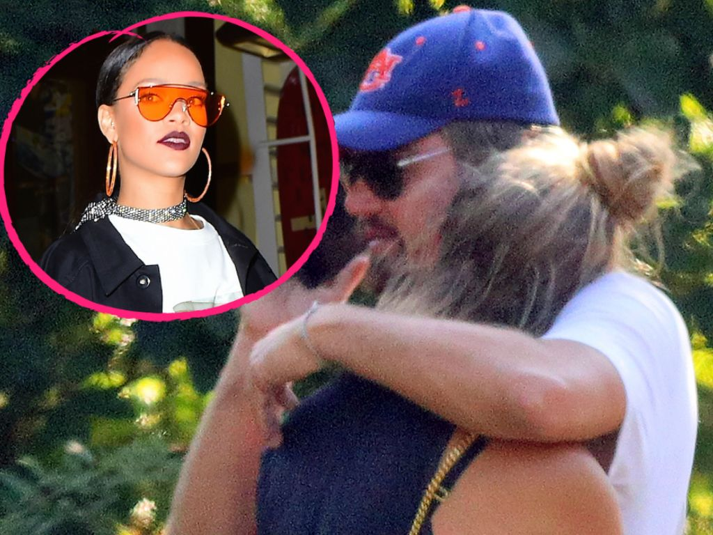 Rihanna, Leonardo DiCaprio mit Nina Agdal