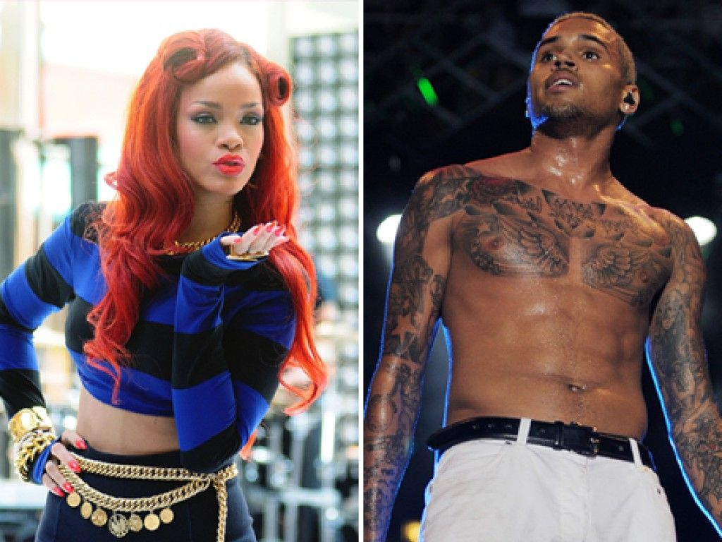 Rihanna und Chris Brown