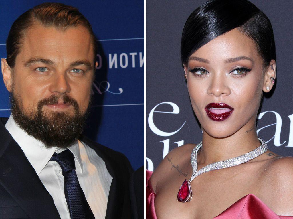 Leonardo DiCaprio und Rihanna
