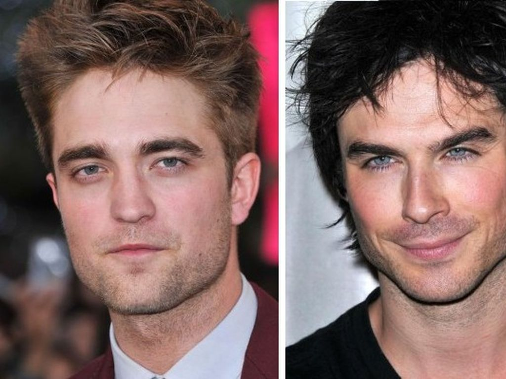Ian Somerhalder und Robert Pattinson