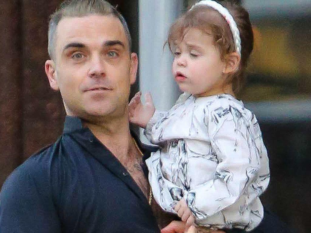Robbie Williams und Theodora Rose Williams