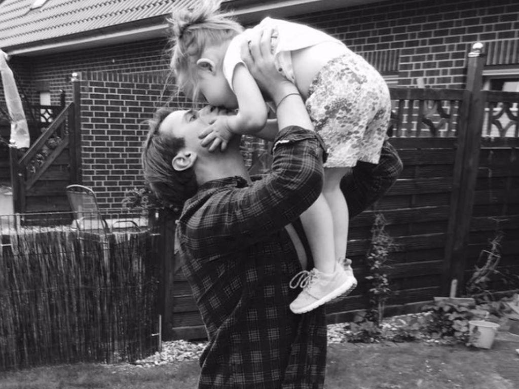 Rocoo Stark mit seiner Tochter Amelia