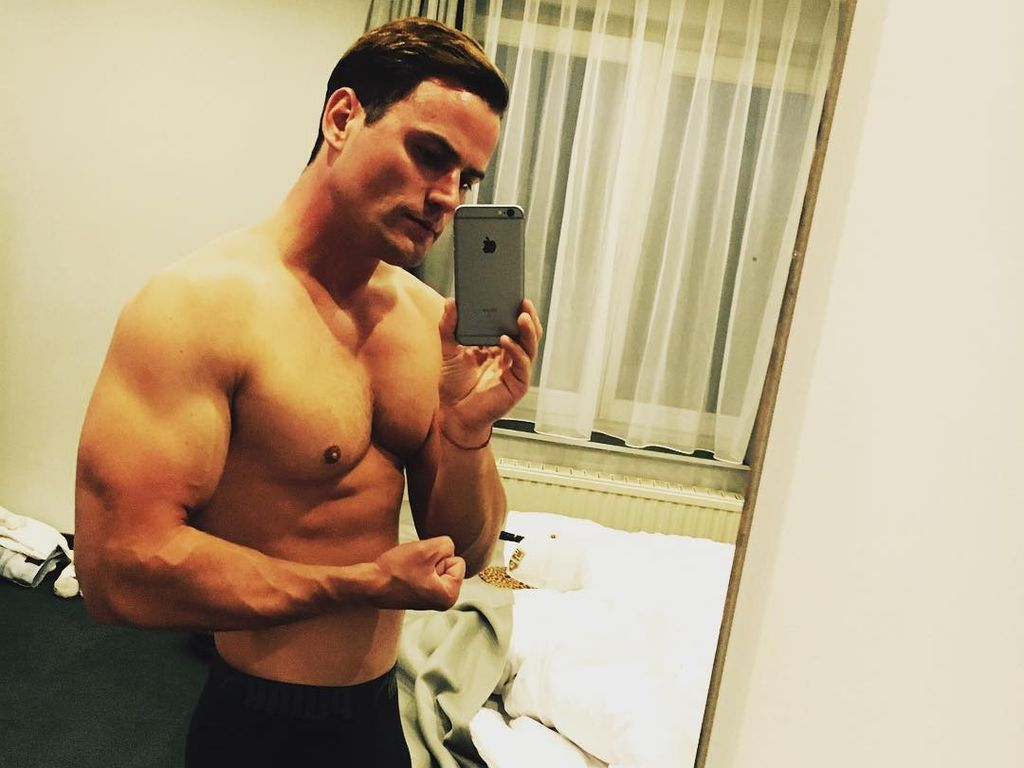 Rocco Stark nach dem Training