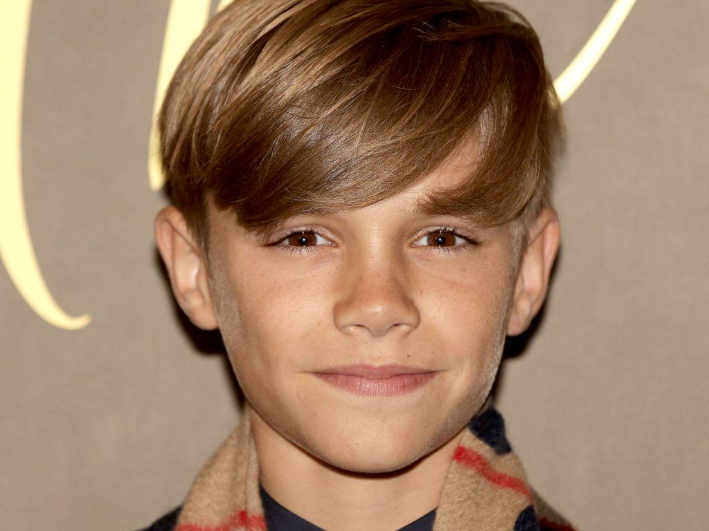 Romeo Beckham bei der Burberry-Premiere