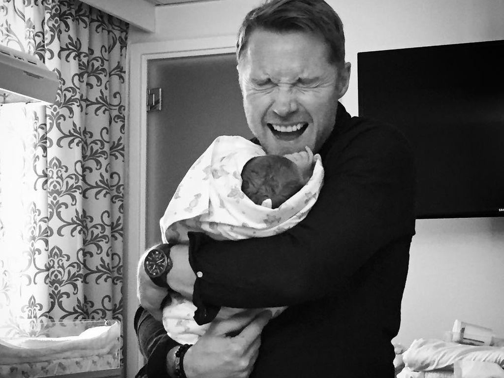 Ronan Keating wieder Vater: