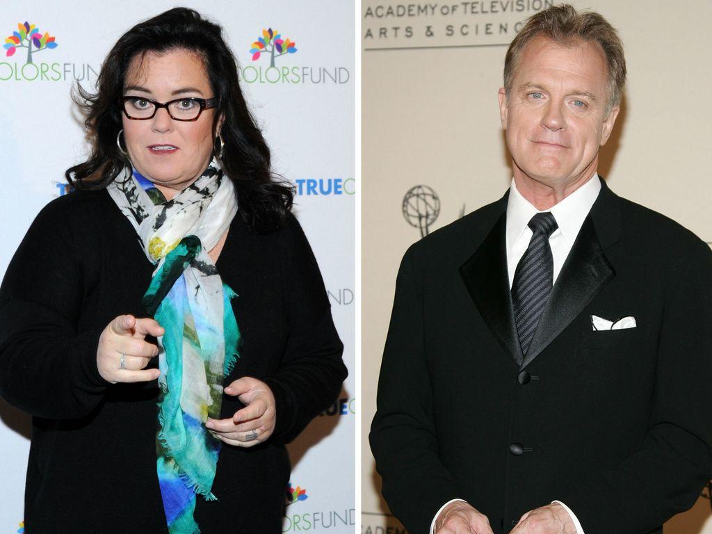 Rosie O'Donnell und Stephen Collins