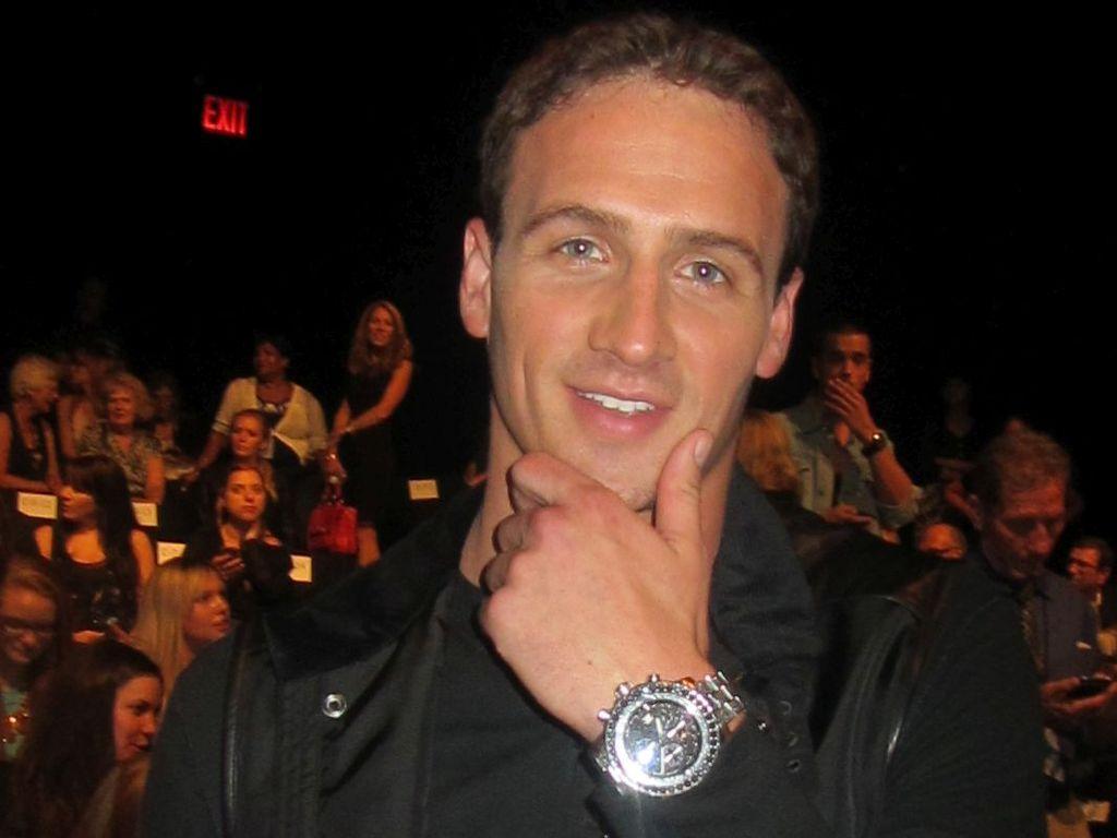 Ryan Lochte in New York