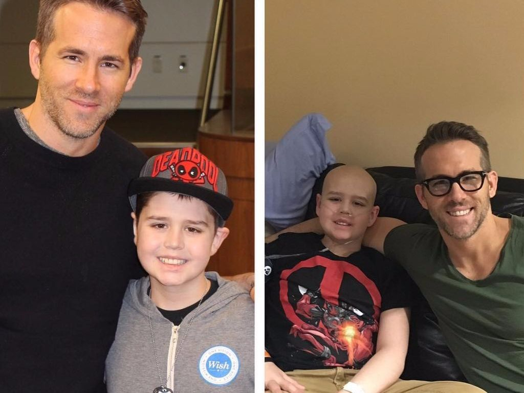 Ryan Reynolds mit Conner McGrath