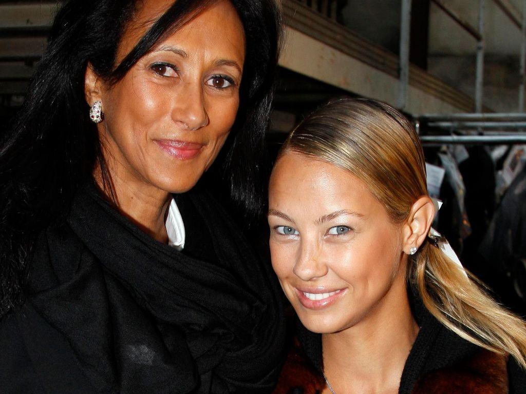 Alessandra Meyer-Wölden mit ihrer Mutter Antonella