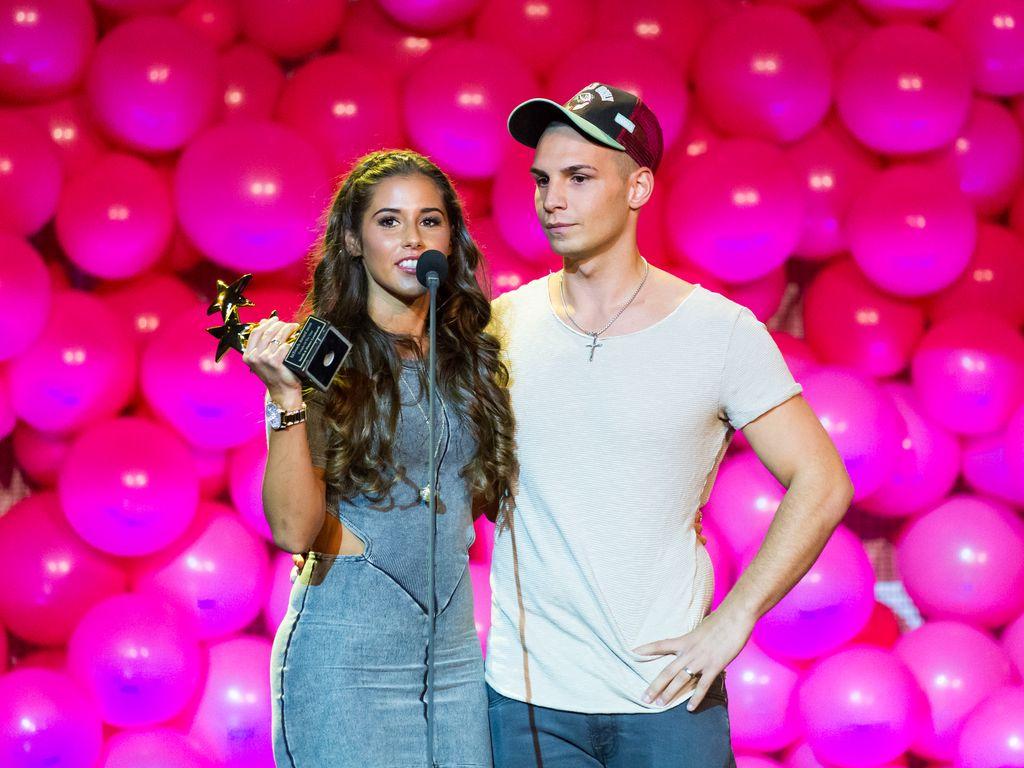 "Sarah und Pietro Lombardi bei den ""InTouch Awards 2016"""