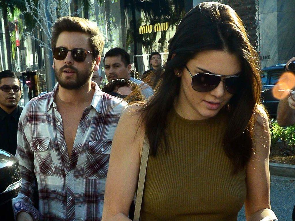 Kendall Jenner und Scott Disick