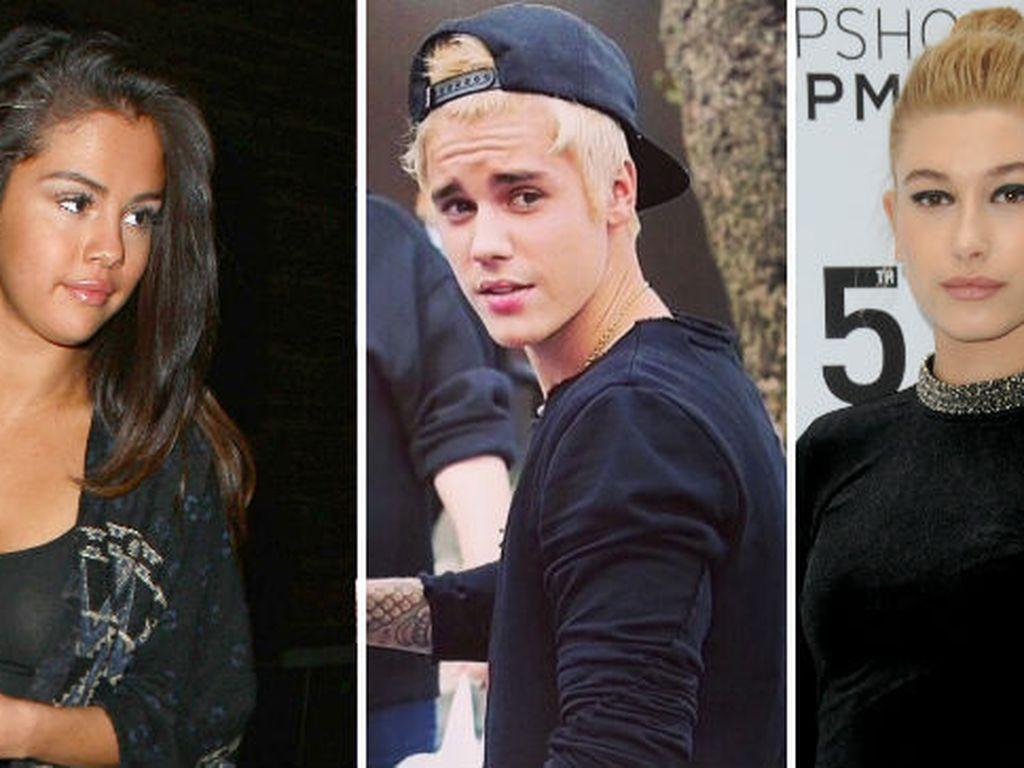 Selena Gomez, Justin Bieber und Hailey Baldwin