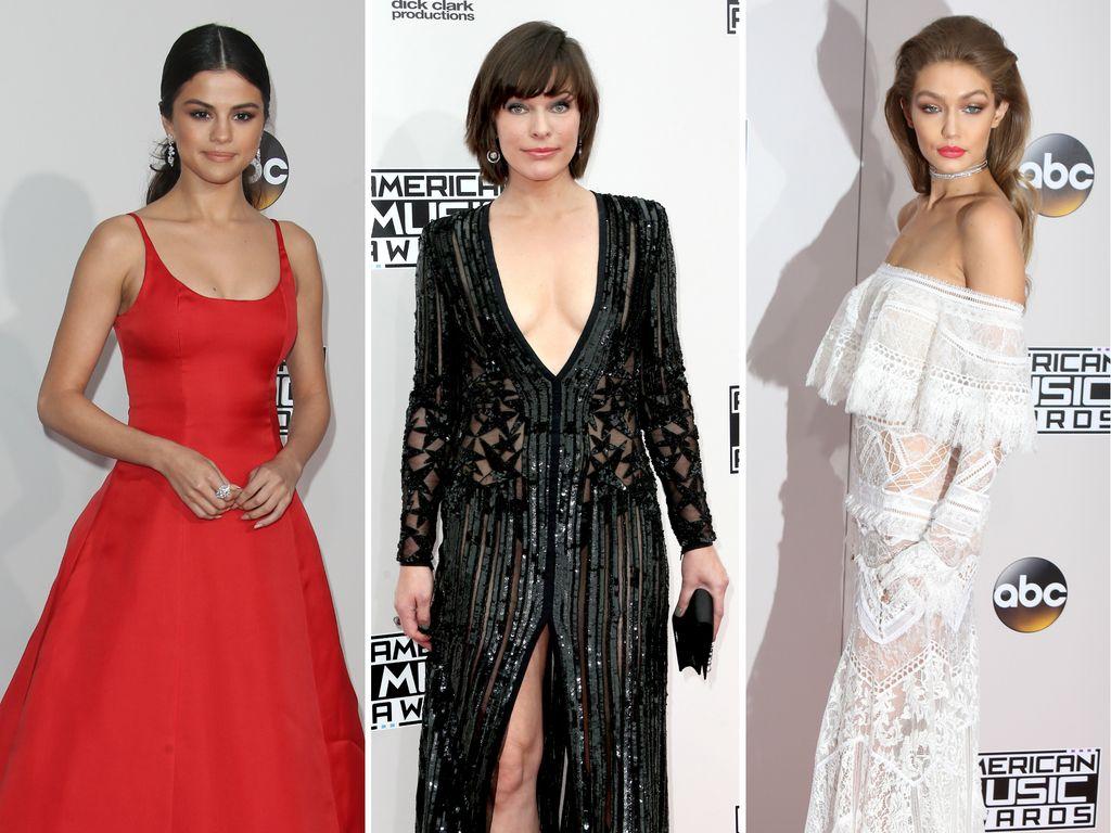 Selena Gomez, Milla Jovovich und Gigi Hadid bei den AMAs 2016