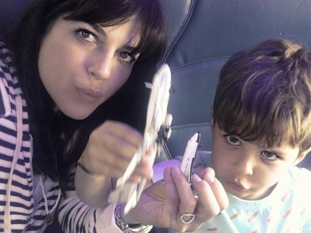 Selma Blair mit ihrem Sohn Arthur