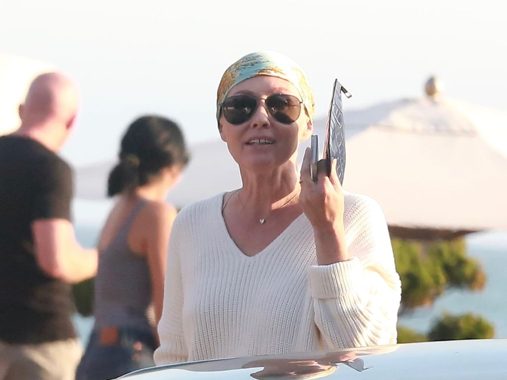 "Shannen Doherty vor dem Restaurant ""Nobu"" in Malibu"