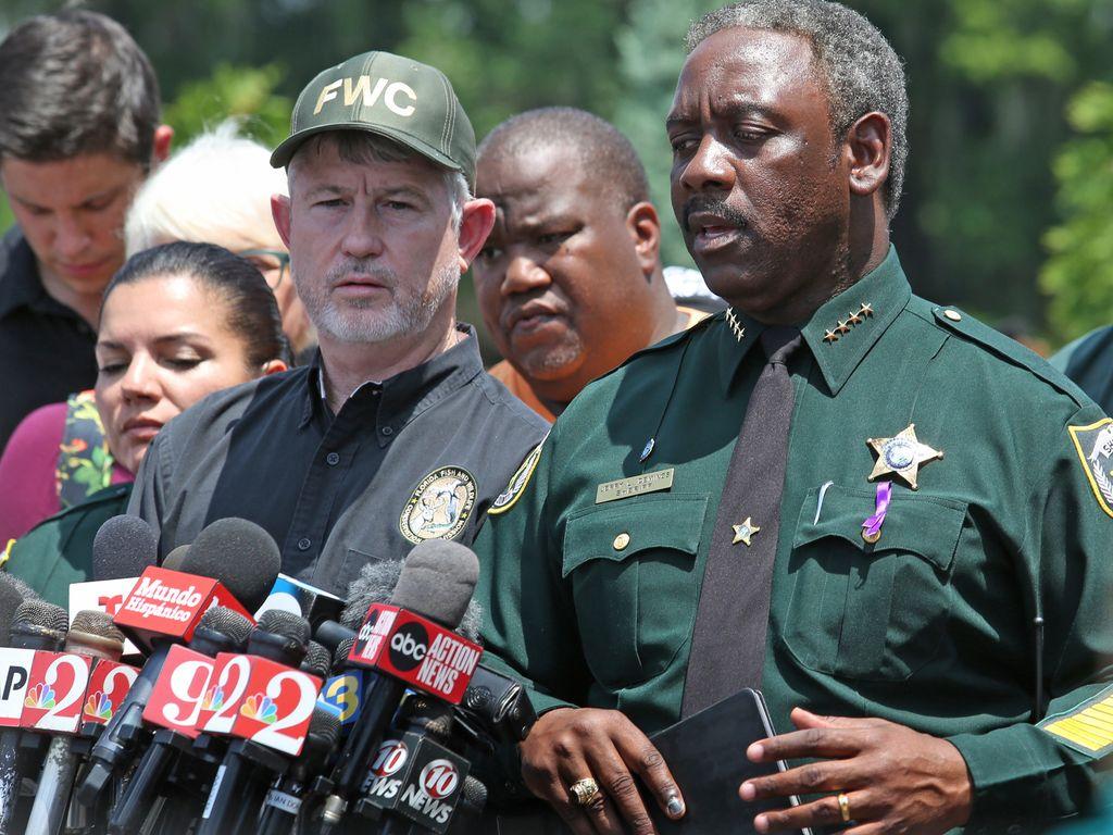 Sheriff Jerry Demings bei der Pressekonferenz