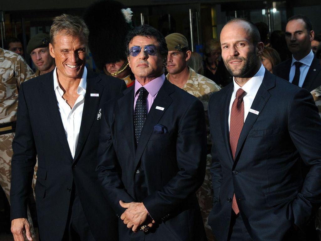 Jason Statham und Sylvester Stallone