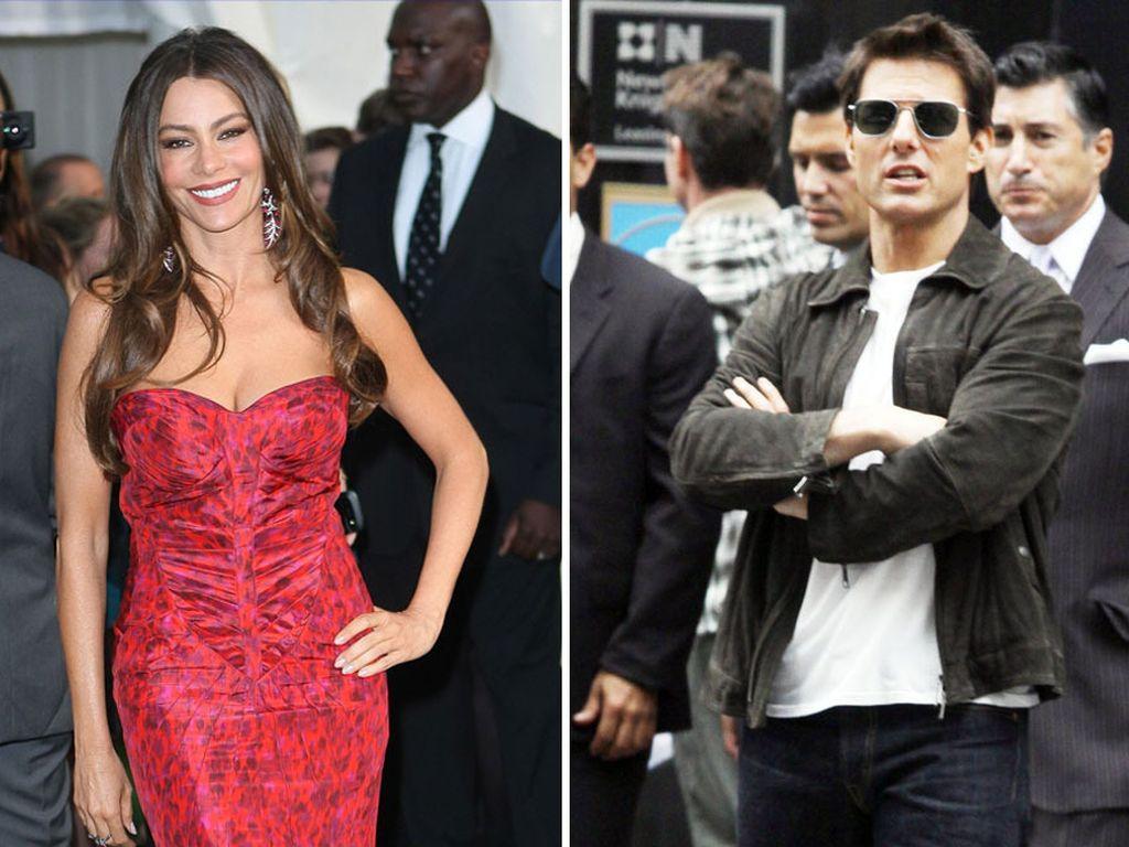 Tom Cruise und Sofia Vergara
