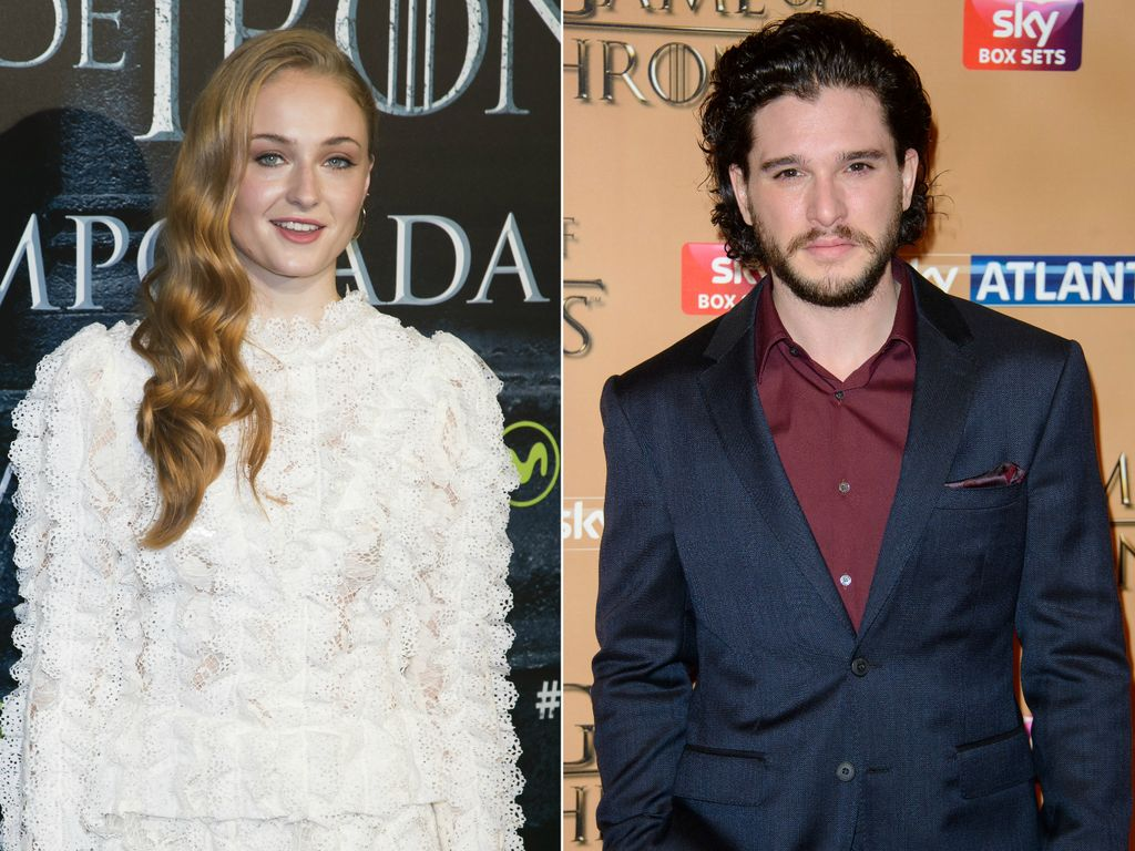 Sophie Turner und Kit Harington