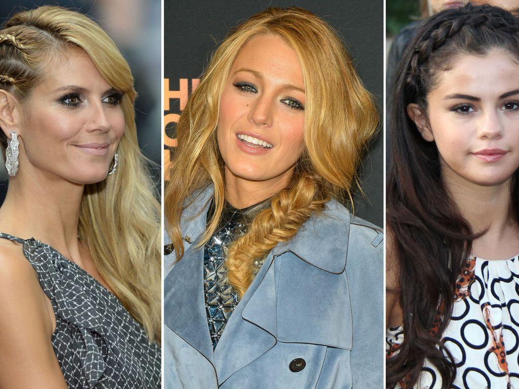 Selena Gomez, Heidi Klum und Blake Lively