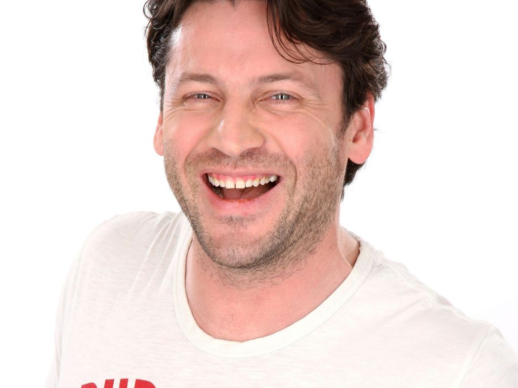 Stefan Franz lacht