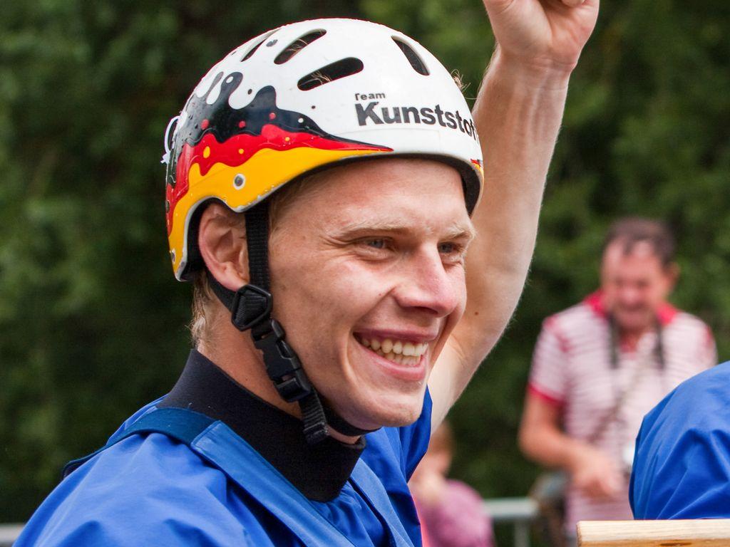 Stefan Henze beim Weltcup 2009