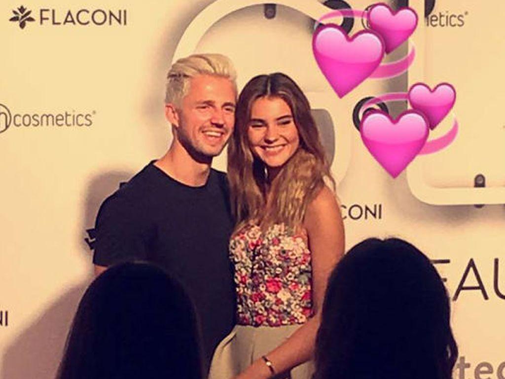 Stefanie Giesinger und Marcus Butler bei der Beauty-Convention Glow
