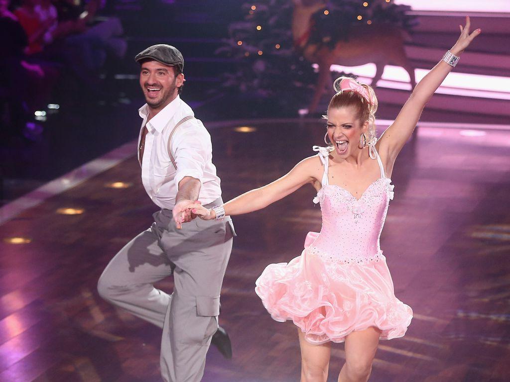 "Stefano Terrazzino und Susan Sideropoulos bei ""Let's Dance"""