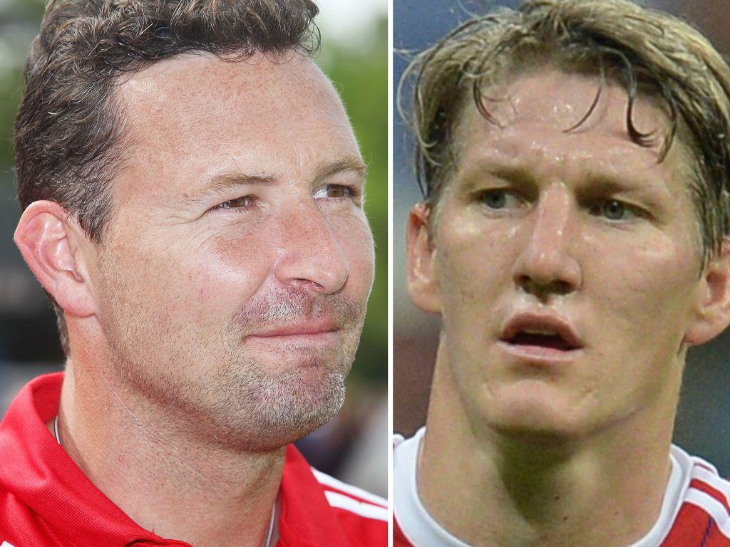 Bastian Schweinsteiger und Stephan Beckenbauer