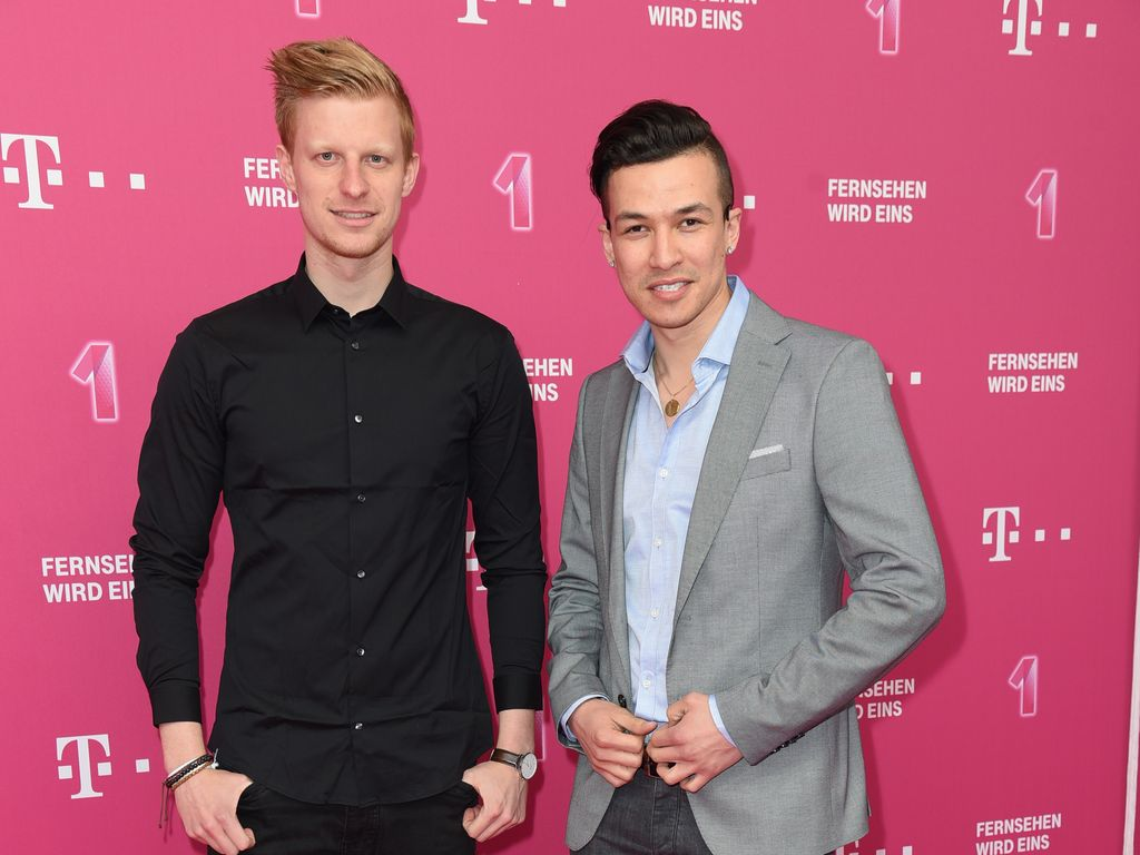 Stephan Gerick und Cheng Loew