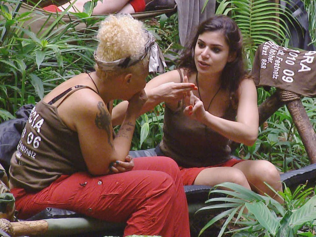Tanja Tischewitsch und Patricia Blanco